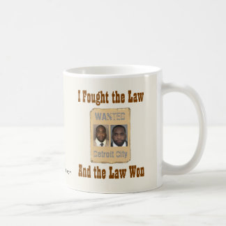 Kwame - I Fought the Law Coffee Mug