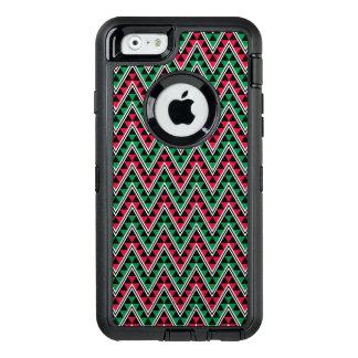 Kwanzaa African Geometric Print - Chevron OtterBox Defender iPhone Case