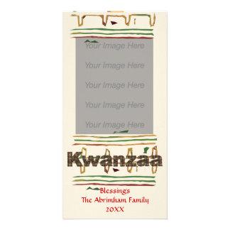 Kwanzaa Blessings Photo Card