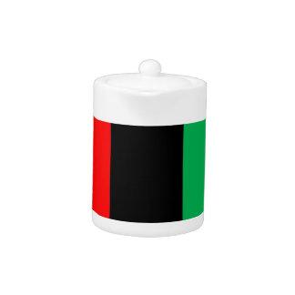 Kwanzaa Colors Red Black Green Stripes Pattern