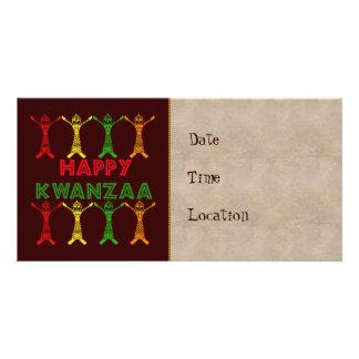 Kwanzaa Dancers Photo Greeting Card