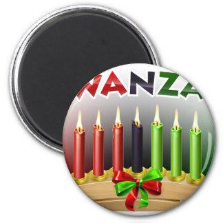 Kwanzaa Design Magnet