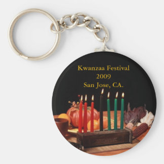 Kwanzaa Festival 2009 ... Basic Round Button Key Ring