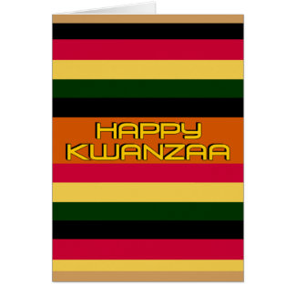 Kwanzaa Greeting Card