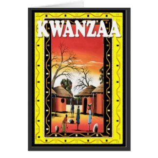 Kwanzaa , in the village card