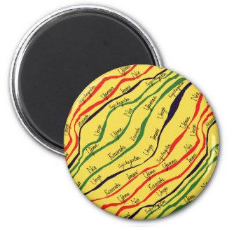 Kwanzaa Patterns Magnet