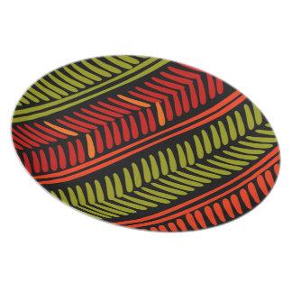 Kwanzaa plate