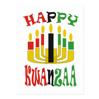 KWANZAA POST CARD