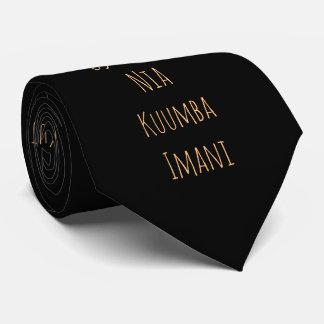 Kwanzaa Principles | Tie