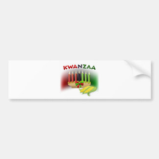 Kwanzaa Sign Bumper Sticker