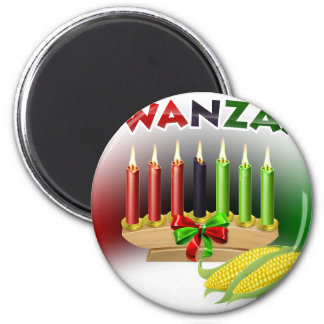 Kwanzaa Sign Magnet