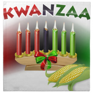 Kwanzaa Sign Napkin