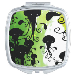 Kwubos Compact Mirror Scary Jellyfish squid