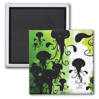 kwubos magnet spooky jellyfish squid