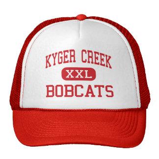 Kyger Creek - Bobcats - Middle - Cheshire Ohio Trucker Hat