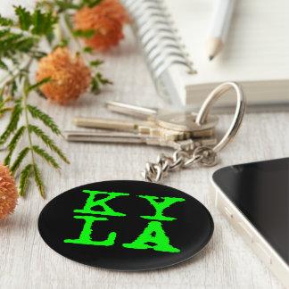 KYLA 5.7 cm Basic Button Key Ring Basic Round Button Key Ring