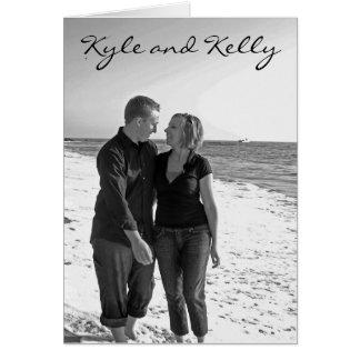Kyle and Kelly invitation