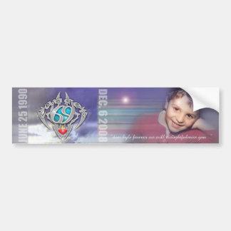 kyle horoscope bumper sticker