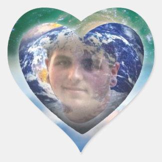 kyle in heart heart sticker