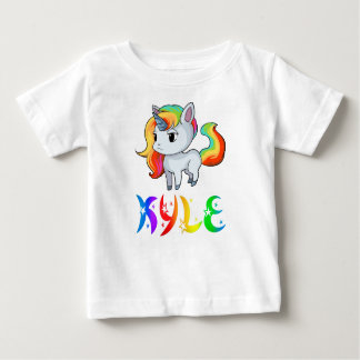 Kyle Unicorn Baby T-Shirt