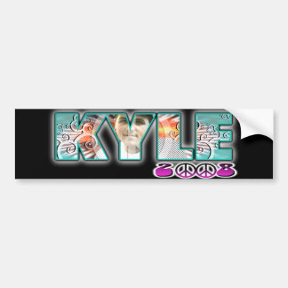 KYLE WILDSTYLE BUMPER STICKER