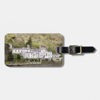 Kylemore Abbey Castle in Ireland Luggage Tag