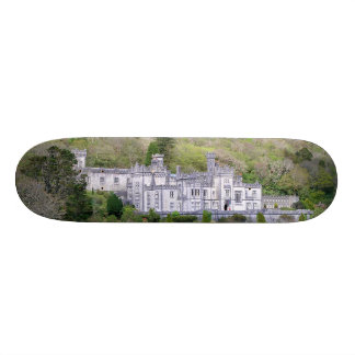 Kylemore Abbey Castle in Ireland Skateboard
