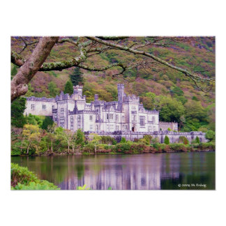 Kylemore Abbey Connemara Print