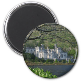 Kylemore Abbey In The Connemara Ireland Magnet