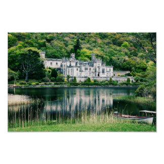 Kylemore Abbey Ireland Poster