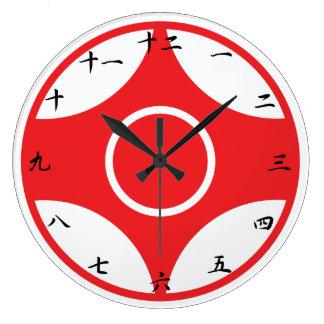 Kyokushin Karate Kanku Clock
