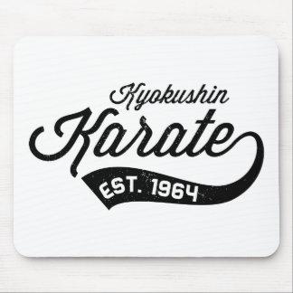 Kyokushin Karate Vintage Mouse Pad