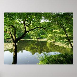 Kyoto Japan Reflections Poster