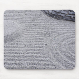 Kyoto, Kodai-ji Temple, Raked Sand Patterns Mouse Pad