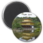 Kyōto Kyoto - Japan golden pavilion Kinkaku ji Magnet