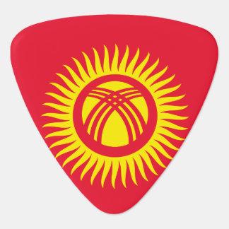 Kyrgyzstan Flag Guitar Pick