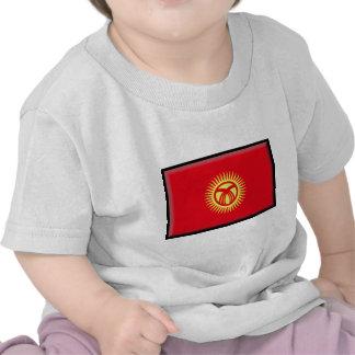 Kyrgyzstan Flag Shirts