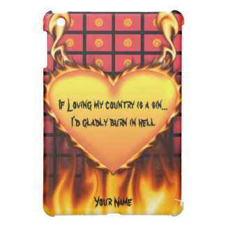 kyrgyzstan If loving my country is a sin iPad Mini Covers