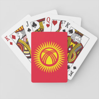 Kyrgyzstan National World Flag Playing Cards