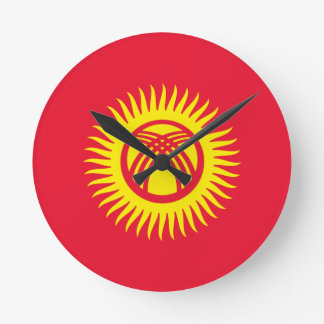 kyrgyzstan round clock