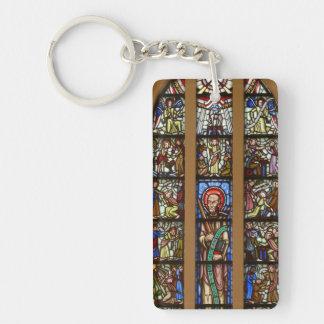Kyrkfönster Key Ring