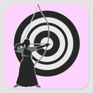 Kyudo2 Square Sticker