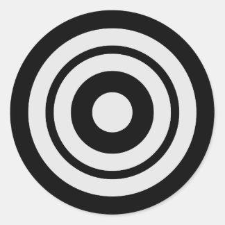Kyudo Classic Round Sticker