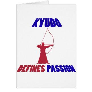 Kyudo design card