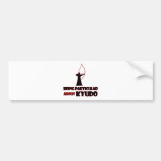 Kyudo Designs Bumper Sticker