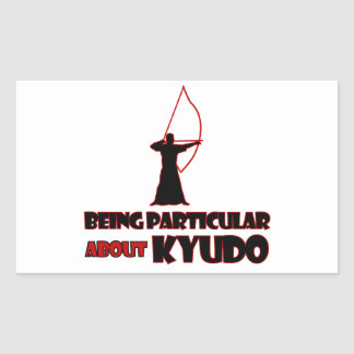 Kyudo Designs Rectangular Sticker