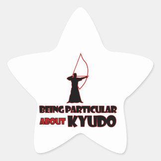 Kyudo Designs Star Sticker