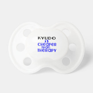 Kyudo Is Cheaper  Than Therapy Baby Pacifiers