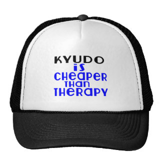 Kyudo Is Cheaper  Than Therapy Cap