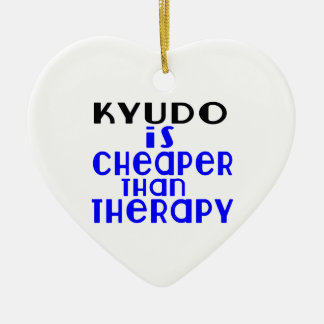 Kyudo Is Cheaper  Than Therapy Ceramic Heart Decoration